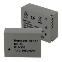 CANON NB-7L LI-ION 1050mAh Digital Battery