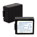 PANASONIC DMW-BLB13 LI-ION 1100mAh Video Battery