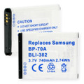 SAMSUNG BP-70A LI-ION 740MAH Digital Battery