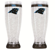 16oz Crystal Freezer Pilsner NFL - Carolina Panthers