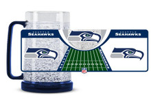 16oz Crystal Freezer Mug NFL - Seattle Seahawks