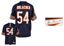 Brian Urlacher Autographed Jersey | Details: Chicago Bears, Reebok, Replithentic, Navy