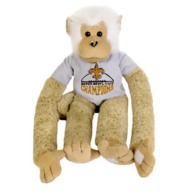 New Orleans Saints Super Bowl XLIV Champions 27'' Plush Monkey