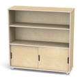 Jonti-Craft 1723JC TrueModern Two Shelf Bookcase