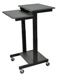 Luxor PS3945 Mobile Adjustable Presentation Workstation