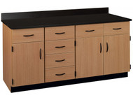 Stevens Industries 84172 J36 4 Lab Wall Work Counter