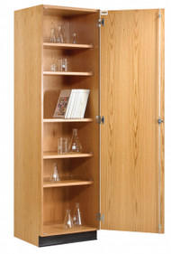 Diversified 313-2422 Tall Wall Storage Cabinet Solid Doors 24 x 84