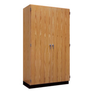 Diversified 353-4822 Tall Wall Storage Cabinet Solid Doors 48 x 84