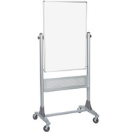 Best-Rite 669RU-DD Platinum Reversible Board Porcelain Steel 40 x 30