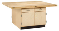 Shain WW32-0V Four-Station Workbench without Vises