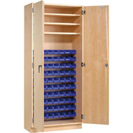 Shain PSC-80 Parts Storage Cabinet with 80 Bins