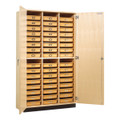 Shain TTC-48 Tote Tray Cabinet with 48 Trays