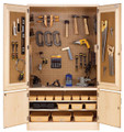 Shain TC-4810 Woodworking Tool Storage Cabinet 48W