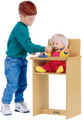 Jonti-Craft 0495JC Birch Doll High Chair