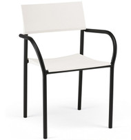 Community MK5201A Milk Arm Chair Plastic