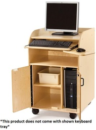 Jonti Craft 1083JC Mobile Technology Stand without Key Board Tray