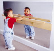 Jonti-Craft 0619JC Infant Coordination Wall Mount Mirror