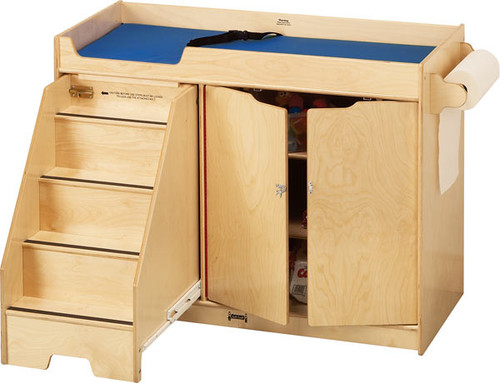 Jonti Craft 5131JC Birch Changing Table With Stairs