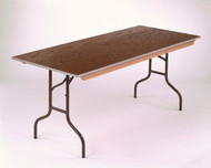 Midwest 430E Plywood Core Folding Table 30 x 48