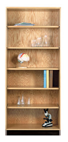 Diversified 301-2422 Open Storage Bookcase 24 Inch Width