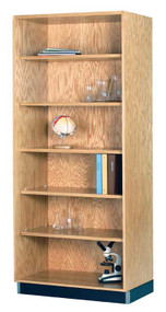 Diversified 301-4822 Open Storage Bookcase 48 Inch Width