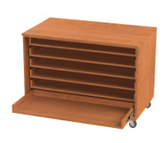 Wisconsin Bench SS1020-AC Roll Out Paper Storage without Doors