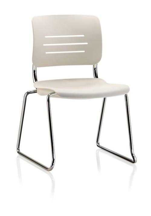 KI Grazie GSNAP Polypropylene Armless Sled Base Chair
