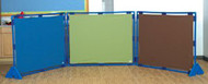 The Children's Factory CF900-922 Cozy Woodland Play Panel Rectangle 31 x 48 Set of 3
