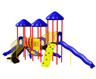 UltraPLAY UPLAY-012 Rainbow Lake Triple Deck with Bone Bridge and Deluxe Tower