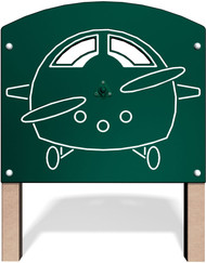 UltraPLAY MEC-035 Metal Airplane Panel
