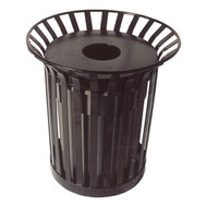 UltraSite LX-36 Lexington Series Slat Trash Receptacle