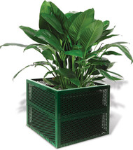 UltraSite SQ2418-P Perforated Diamond Planter