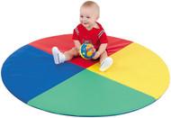 The Children's Factory CF362-159 Four Color Pie Mat