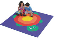 The Children's Factory CF321-954 Turtle Hatching Activity Mat 60 x 60