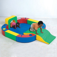 The Children's Factory CF322-162 Playring with Tunnel and Slide