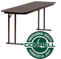 Correll ST1872PX Folding Training Table 18 x 72
