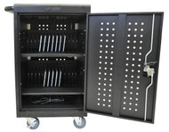 Luxor LLTM30-B Tablet Charging Cart