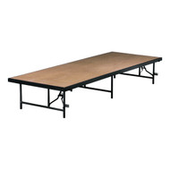 Portable Stage and Seated Choral Riser Single Height Hardboard Deck Midwest 4832H