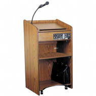 Oklahoma Sound 6010 Aristocrat Floor Lectern with Sound