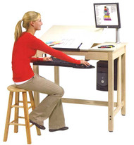 Shain CDTC-70-QS Drafting and CAD Table System