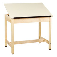 Shain DT-30A-QS Drafting Table with Adjustable Drawing Surface