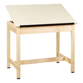 Shain DT-9A30-QS Drafting Table with Adjustable Drawing Surface