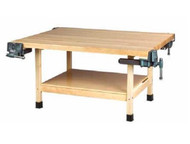 Shain WW4-4V-QS 4 Station Workbench with 4 Vises