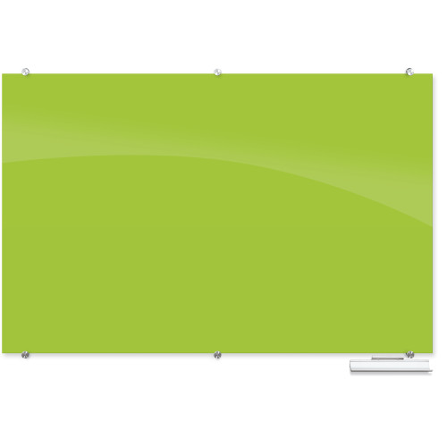 Balt 83846 Visionary Colors Wall Mounted Magnetic Glass Dry Erase Board 4 x 8