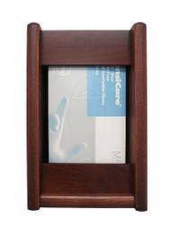 Wooden Mallet GBS11-1 Glove or Tissue Box Holder 1 Pocket Rectangle