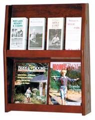 Wooden Mallet LD24-8 8 Pocket Literature Display
