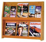 Wooden Mallet LD24-12   12 Pocket Literature Display