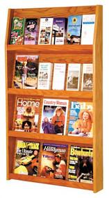 Wooden Mallet LD49-24  Literature Display 24 Pocket