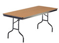 Midwest 630F Particleboard Core Folding Table 30 x 72