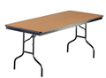 Midwest 836F Particleboard Core Folding Table 36 x 96